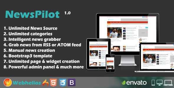 Download-S1] NewsPilot - Autopilot News Script - ThemeDe