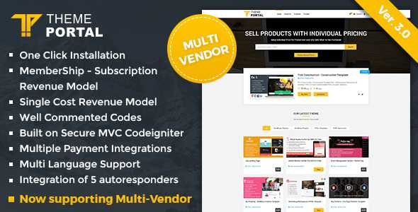 Download-S1] Theme Portal Marketplace v3 0 - Sell Digital
