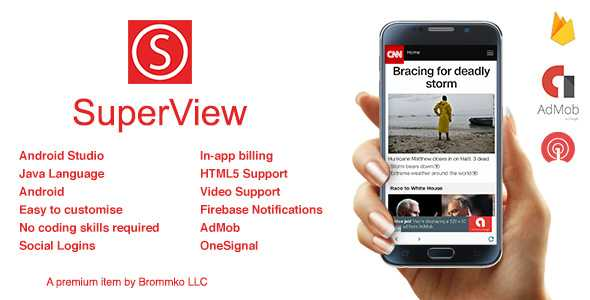 Download-S1] SuperView - WebView App for Android with Push