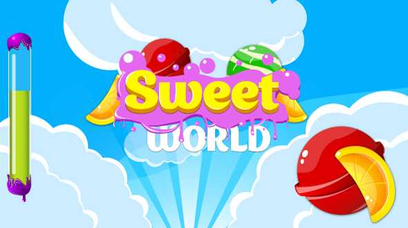 Download-S1] Sweet world - HTML5 game  Construct2 ( capx) +