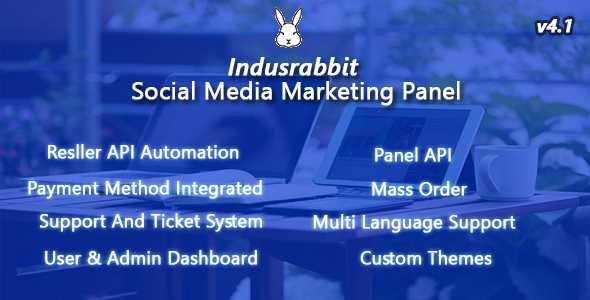 Download-S1] Indusrabbit v4 1 - SMM Panel - ThemeDe