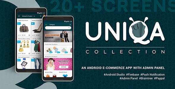Download-S1] Uniqa - An android eCommerce app with admin