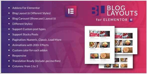 Download-S1] Blog Layouts for Elementor v1 0 - WordPress