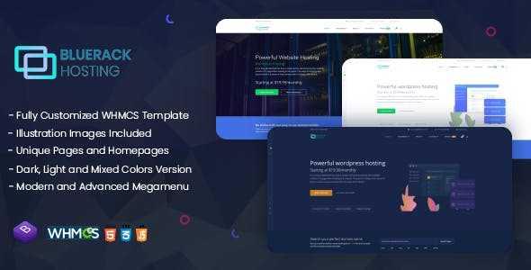 Download-S2] Bluerack v1 0 - Modern and Professional Hosting