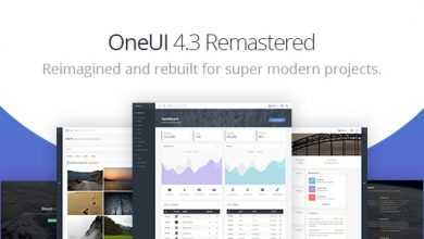 OneUI v4 3 0 - Bootstrap 4 Admin Dashboard Template